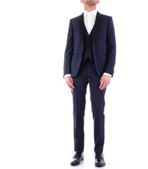 corneliani 838z75-9164135 dress men blue navy