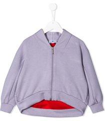 raspberry plum peyton jacket - purple