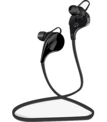 audífonos bluetooth manos, deportes de inalámbrica audifonos bluetooth manos libres  v4.1 stereo headset comando de voz de doble modo de espera para el iphone 6 6 plus samsung xiaomi htc mobile phone (black)