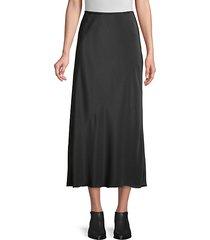 bias silk skirt