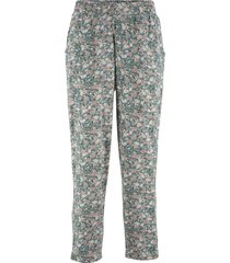 pantaloni in jersey alla caviglia (verde) - bpc bonprix collection