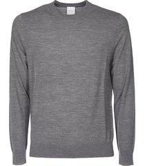 light grey crewneck pullover