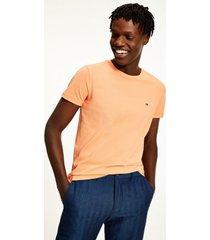 tommy hilfiger men's slim fit organic cotton t-shirt summer sunset - xxl