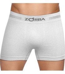 cueca boxer seamless free zorba 0844 t.p/gg branco