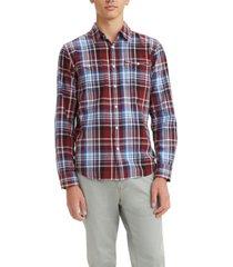 levi's men's classic clean standard fit western shirt