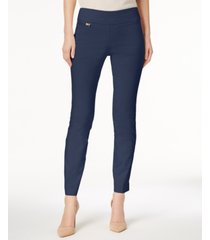 alfani tummy-control pull-on skinny pants, regular, short and long lengths, created for macy's