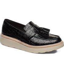 trace tassel loafers låga skor svart clarks