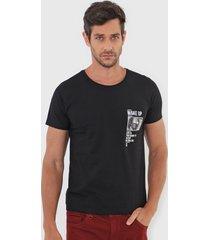 camiseta sergio k wake up preta