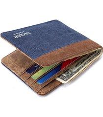 billetera hombre #1238- color azul