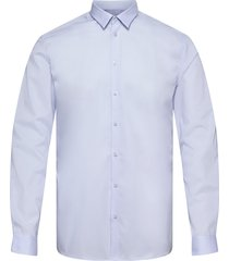 hall skjorta business blå minimum