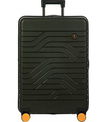 """ulisse 28"""" expandable spinner suitcase"""