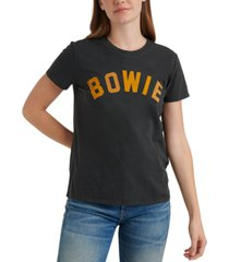 lucky brand cotton bowie-graphic t-shirt