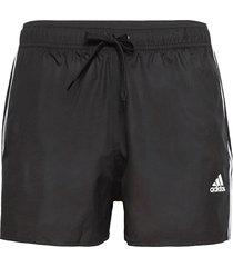 classic 3-stripes swim shorts badshorts svart adidas performance