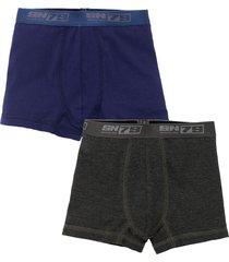 boxer azul  offcorss