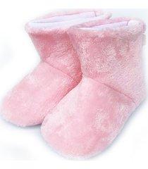 botin peluche rosa beep in 54065 niña