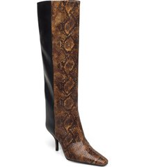 cianagz boots ma20 höga stövlar brun gestuz