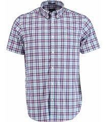 gant overhemd multi check roze rf 3023731/665