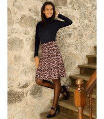kjol amy vermont beige::svart