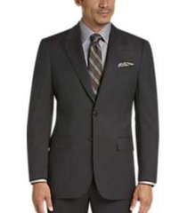 joseph abboud brown tic modern fit suit