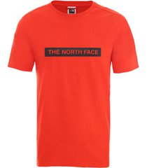 t-shirt korte mouw the north face nf0a3s3o15q1