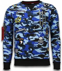sweater local fanatic camo embroidery patches