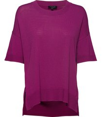 sfwille ss knit pullover t-shirts & tops short-sleeved lila selected femme