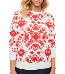 women's scotch & soda graphic sweatshirt