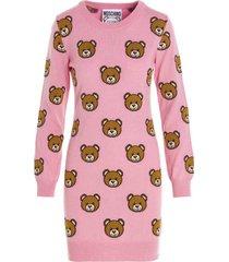 moschino teddy sweater