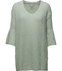 titti pullover gebreide trui groen inwear