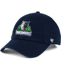 '47 brand minnesota timberwolves clean up cap