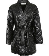 philosophy di lorenzo serafini fringe edge mid-length jacket