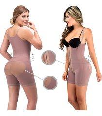 fajas mujer body short espalda alta - fajas lady - cocoa