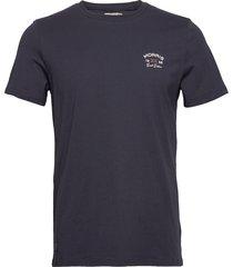 léonce tee t-shirts short-sleeved blå morris