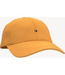 tommy hilfiger women's classic flag cap flame orange -