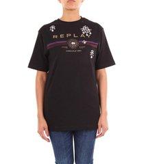 t-shirt korte mouw replay w3233d22662