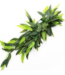 reptil vivarium realista selva seda planta de vid de la decoración pequeña mediana grande - 20 pulgadas tp001