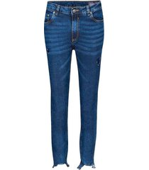 jean skinny cintura media para mujer freedom 01296