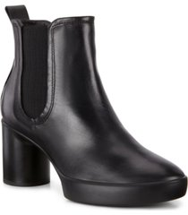 ecco women's shape sculptured motion 55 chelsea booties women's shoes