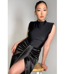 akira too easy sleeveless bodysuit