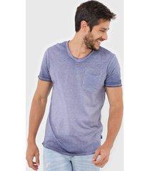camiseta jack & jones jortorino azul - azul - masculino - algodã£o - dafiti