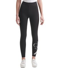 calvin klein jeans logo leggings