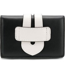 tila march two-tone wallet - black