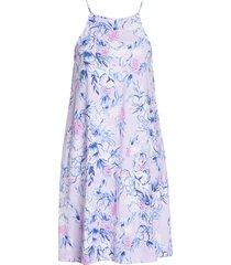 women's lilly pulitzer margot sleeveless dress, size xx-large - purple