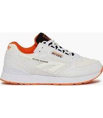 hi-tec silver shadow sneakers white/black