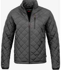 hawke & co. men's diamond quilted jacket, created for macy's