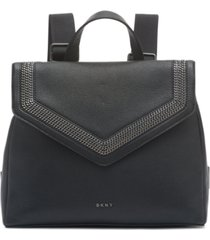 dkny ziggy convertible leather backpack