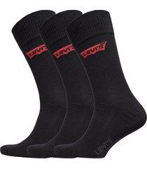 levis 168sf regular cut 3p underwear socks regular socks svart levi´s