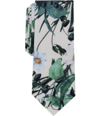 bar iii men's garden floral slim tie, created for macy's