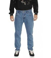jeans celeste clásico recto old tree