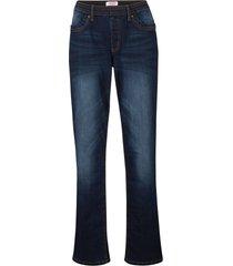 jeans termici con elastico in vita (blu) - john baner jeanswear